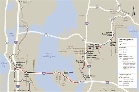 Light Rail Bellevue by City Of Bellevue And Sound Transit Clash Light Rail