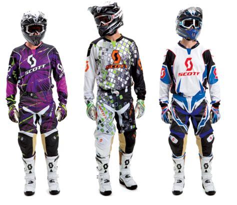 scott motocross gear scott sports 2012 mx gear now available