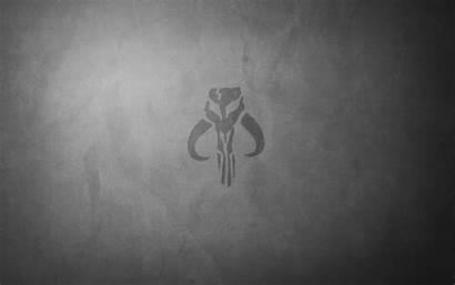 Mandalorian Symbol Wars Star Wallpapers Desktop Wallpapercave