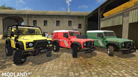 land rover defender  mod farming simulator
