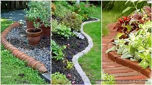 17, Simple, And, Cheap, Garden, Edging, Ideas, For, Your, Garden