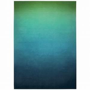 esprit tapis sunrise 140 x 200 cm bleu vert tapis With tapis bleu vert