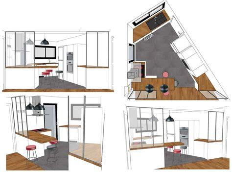 perspective cuisine dessiner en perspective une cuisine cuisine with