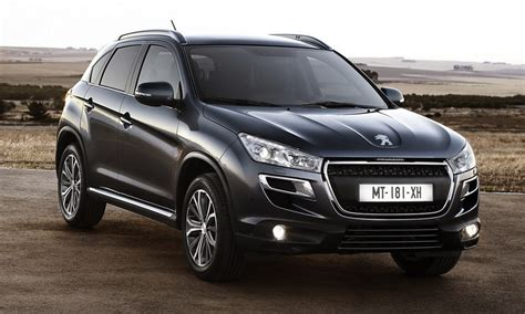 Peugeot Crossover by 2013 Peugeot 4008 Crossover Autogeeze