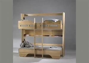 Lit Armoire Gain De Place : acheter votre lit double gain de place chez simeuble ~ Premium-room.com Idées de Décoration