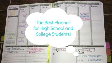 planner  high school  college students