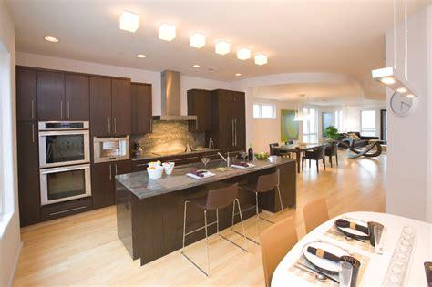wallpaper designs for kitchens million dollar modern condo contemporary kitchen 6972