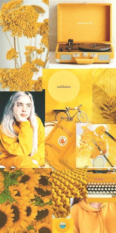 mustard yellow aesthetic wallpaper