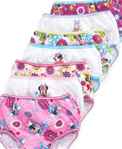 disney  girls  pack minnie mouse cotton underwear underwear socks kids baby macys