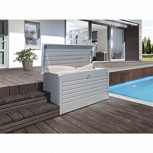 Sitzkissen Box Garten : biohort freizeitbox 460 liter 1340 620 710 mm silber metallic ~ Whattoseeinmadrid.com Haus und Dekorationen