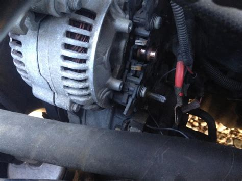 2002 Volvo S60 Alternator by How To Replace The Voltage Regulator W O Removing The