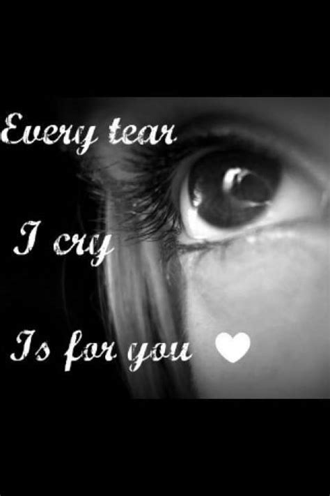 Every Tear I Cry Is For You  Desicommentscom