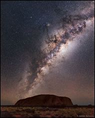 Milky Way Over Australia