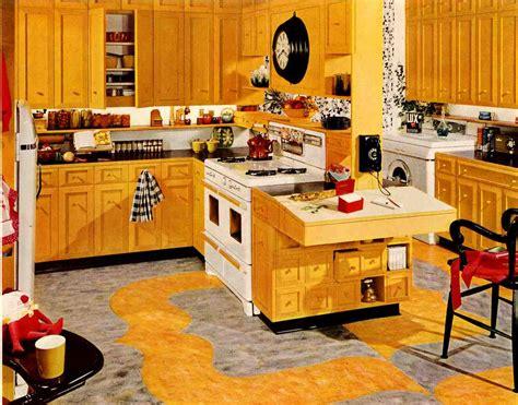 retro kitchen decor ideas retro kitchen design sets and ideas