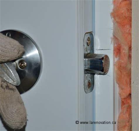 comment installer une poignee de porte exterieur comment installer une serrure de porte d entr 233 e