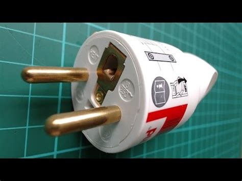 wire  french electric plug cee  youtube