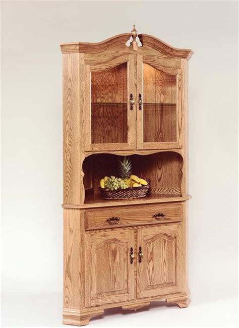 corner china cabinet hutch hardwood corner hutch farmhouse china cabinets and