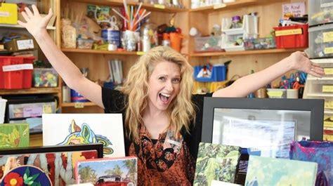 Living Room Community Studio by Secret Artists Made Work For The Livingroom Community