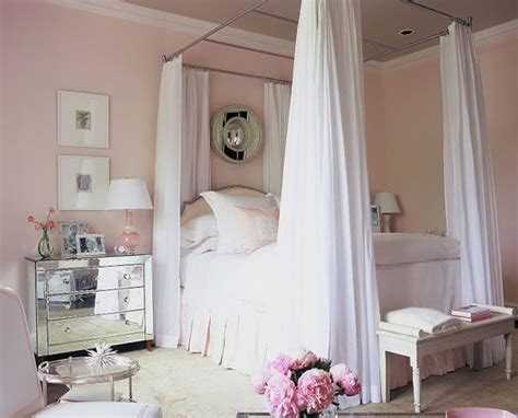 Pink Bedroom Decorated By Phoebe Howard-hooked On Houses
