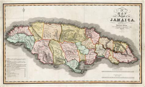 map   island  jamaica reduced  robertsons