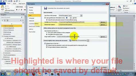 easily recover unsaved word documents  onwards