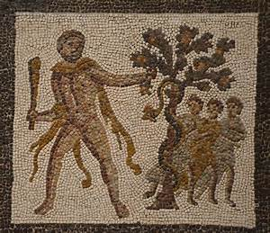 File:Detail of the Mosaic with the Labors of Hercules (Eleventh Labour Apples of the Hesperides