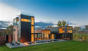 home architect design rigorous geometry contrasting a peaceful landscape 4 springs residence in virginia