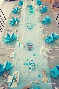 Decoration Table Bapteme