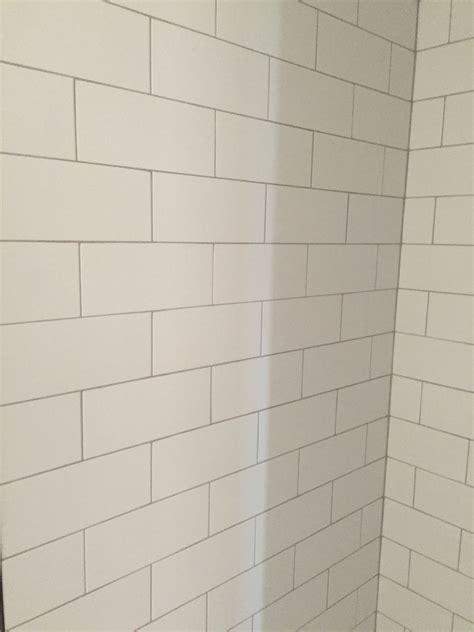 Subway Tile Bathroom Colors by Lowe S Silverado Grout Color Home Master Bed Bath In
