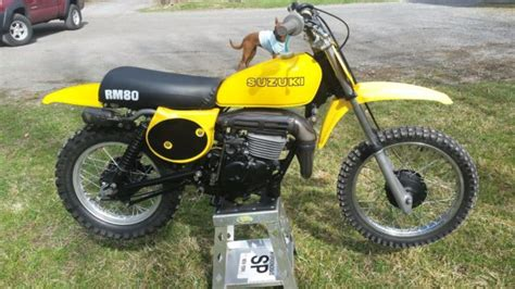 Suzuki Rm 80 For Sale Schenectady, New York, United States