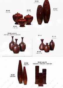 Bamboo vases asian