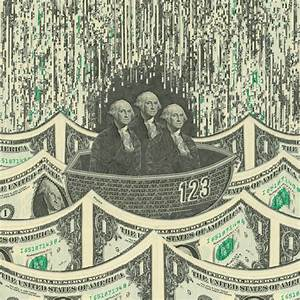 the of the dollar meticulous currency collages by