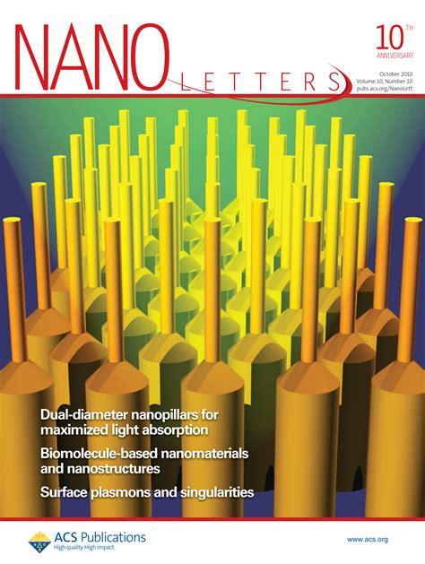 Nano Letters Cover Letter nano letters cover letter ghostwriternickelodeon web fc2
