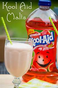 Watermelon Kool Aid Fruit Drinks Malted Milkshakes