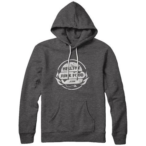 hellthy junk food official merchandise vintage hoodie