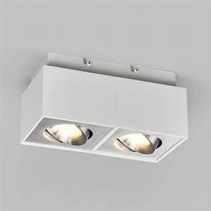 Led Deckenlampe Küche : led deckenlampe katrina eckig aluminium deckenleuchte led ~ Watch28wear.com Haus und Dekorationen
