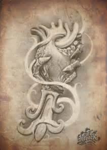 Black and Grey Chicano Tattoo Flash Art