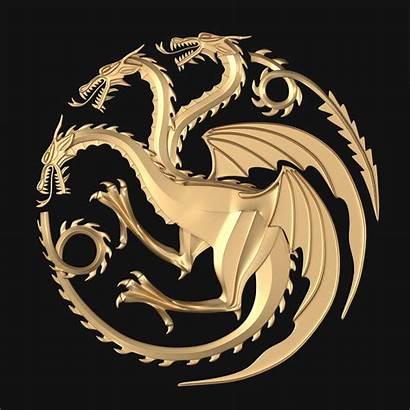 Targaryen Thrones 3d Models Fantasy Stl Character