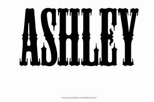 Ashley Name Tattoo Designs