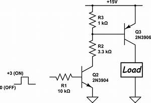 Transistors - Pnp And Npn Circuit