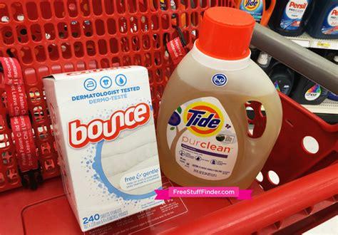 4 99 reg 12 tide purclean laundry detergent bounce