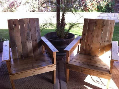 dining chair cusions backyard deck diy pallet chairs craft o maniac