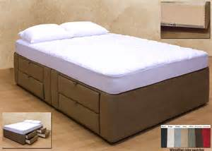 Queen Platform Bed Storage Plans