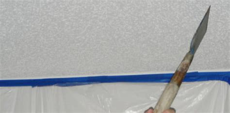 remove textured popcorn ceilings todays homeowner