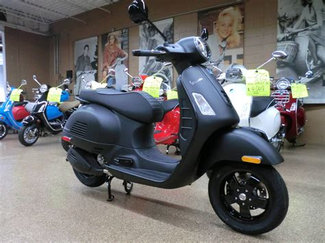 Vespa Gts 2019 by New 2019 Vespa Gts 300 Abs E4 Notte Scooters In