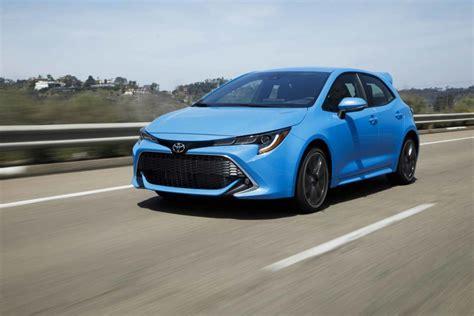 2019 Toyota Hatchback by 2019 Toyota Corolla Hatchback Automotive Rhythms