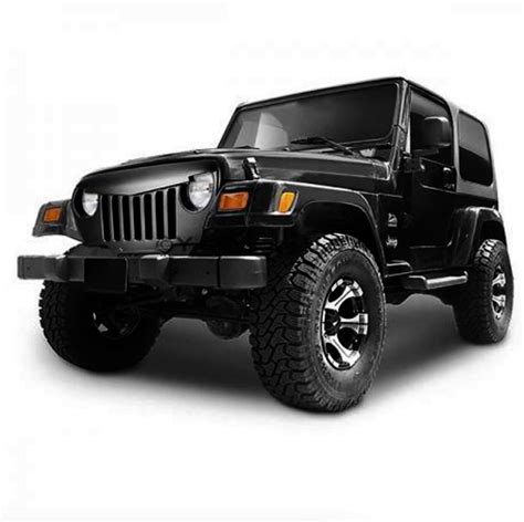 jeep accessories jeep wrangler tj angry grill grille abs plastic to suit 96