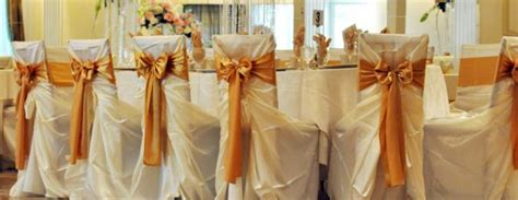 Wedding Chair Covers & Linens Rental