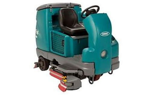 Tennant Floor Machine Batteries by 2011 Tennant T16 Battery Powered Cylindrical Floor