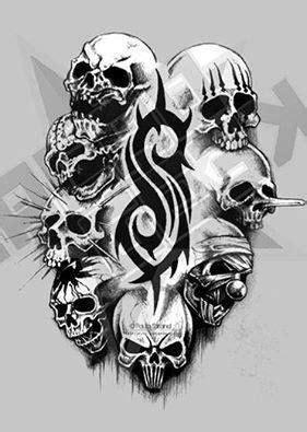 slipknot bands   slipknot tattoo slipknot